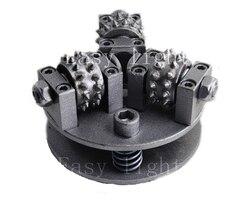 5 zoll 125mm Bush Hammer Rad M14 M16 5/8 ''-11 Anpassung Viel Mehr Größe Legierung Rad für granit Marmor Litchi Oberfläche