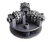 5 zoll 125mm Bush Hammer Rad M14 M16 5/8  11 Anpassung Viel Mehr Größe Legierung Rad für granit Marmor Litchi Oberfläche