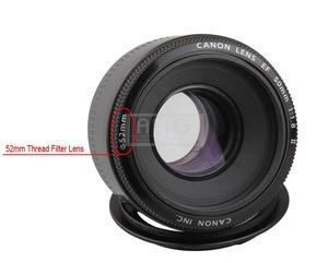 Image 5 - מצלמה עדשת מאקרו הפוך מתאם טבעת 49mm 52mm 55mm 58mm 62mm 67mm 72mm 77mm מסנן חוט הר עדשה עבור Canon DSLR מצלמה