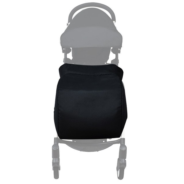 Black Footmuff for Baby Strollers