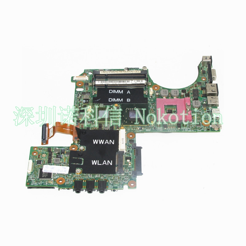 NOKOTION CN-0K984J 0K984J For dell XPS M1330 laptop motherboard 965PM DDR2 GeForce 8600M G84-601-A2 graphics free cpu works nokotion 0h2ydf cn 0h2ydf motherboard for dell latitude e6420 laptop main board pal51 la 6592p geforce nvs4200m graphics