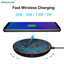 Nillkin 15W Qi Fast Wireless Charging for Samsung Note 9 S10 S9 S8  Plus Wireless Charger for Huawei P30 Pro Mate 20 Pro