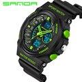 SANDA Fashion Watch Men G Style Waterproof Sports Military Watches S-Shock Men's Watches Led Digital Watch relogio masculino