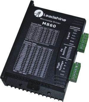 Leadshine Driver M860 Step Motor Driver 2 phase Motor drive 2.4A-7.2A 24V-80VDC Adapted for 57/86 step motor leadshine 2 phase microstep driver m542 05 step motor driver 20v 50vdc 1 2a 5 04a for cnc router