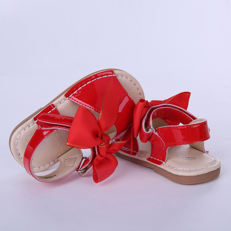 Image 5 - Pettigirl Summer Baby Girls Sandals Shoes Soft Microfiber Leather Bowknot Beach Kids Shoes US Size (Without Shoe Box)baby girls sandals shoesgirl sandal shoessummer baby girls sandals -