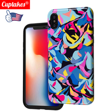Luxury Flower Silicon Phone Case for iPhone 7 8 Plus XS Max XR Rose Floral Cases for iPhone X 8 7 6 6S Plus Soft TPU Cover Coque