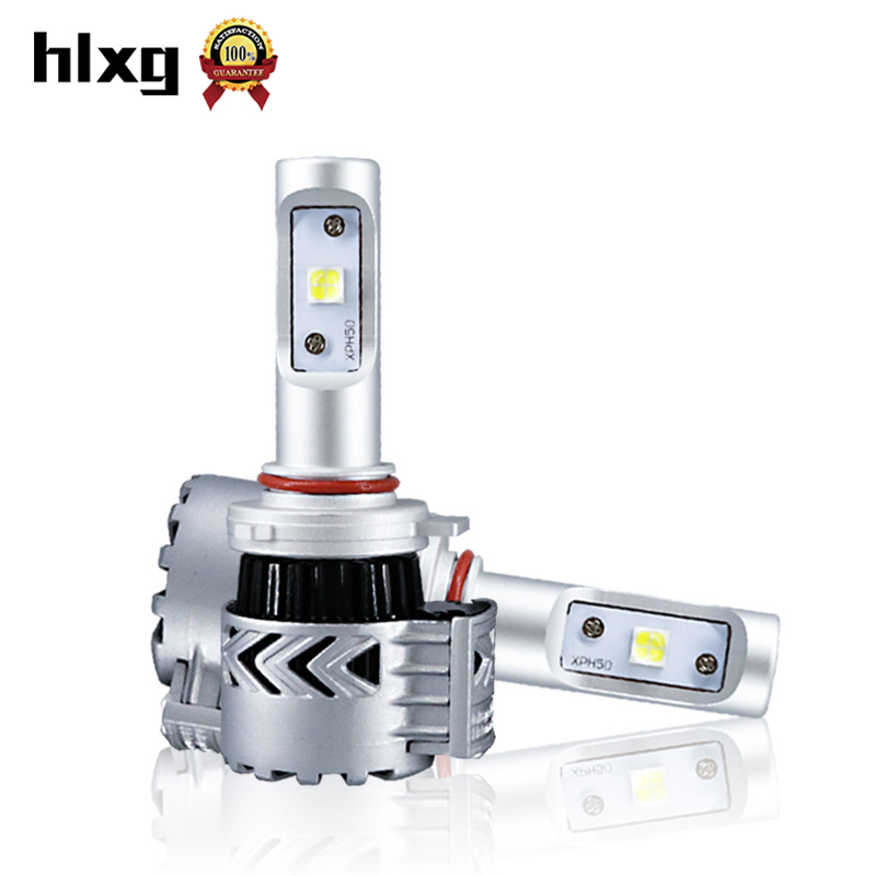 Super Bright Car Headlights HB3/9005 72W 12000lm Auto Front Bulb Automobiles Headlamp Fog Light 6000K Car-styling Lighting
