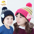 2017 Real Solid Unisex Winter Hat The New South Korean Baby Warm Hat Personality Wing Cap Boy Girl Fall And Winter Children