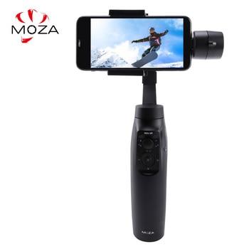 موزا Mini-Mi Vlog 3-Axis يده الذكي مثبت أفقي آيفون/8/7/7 Plus/6 ، هواوي سامسونج غالاكسي و Gopro عمل الكاميرا