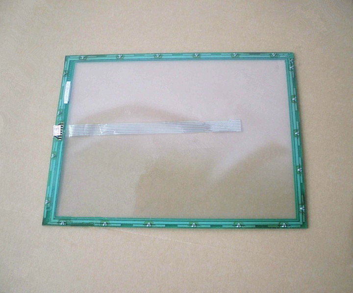 12.1 inch touch for N010-0550-T715 touch screen digitizer panel glass free shipping original 7 wire touch screen n010 0550 t717 industrial touch screen
