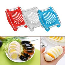 Hot Sale Cooking Tools 2in1 Cut Multifunction Kitchen Egg Slicer Section Cutter Mold Flower Edges Gadgets Tools Ferramentas