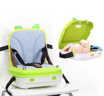 2016 New Design high quality baby chair mummy bag multifunctional set dual useful booster seat portable baby chair for feeding