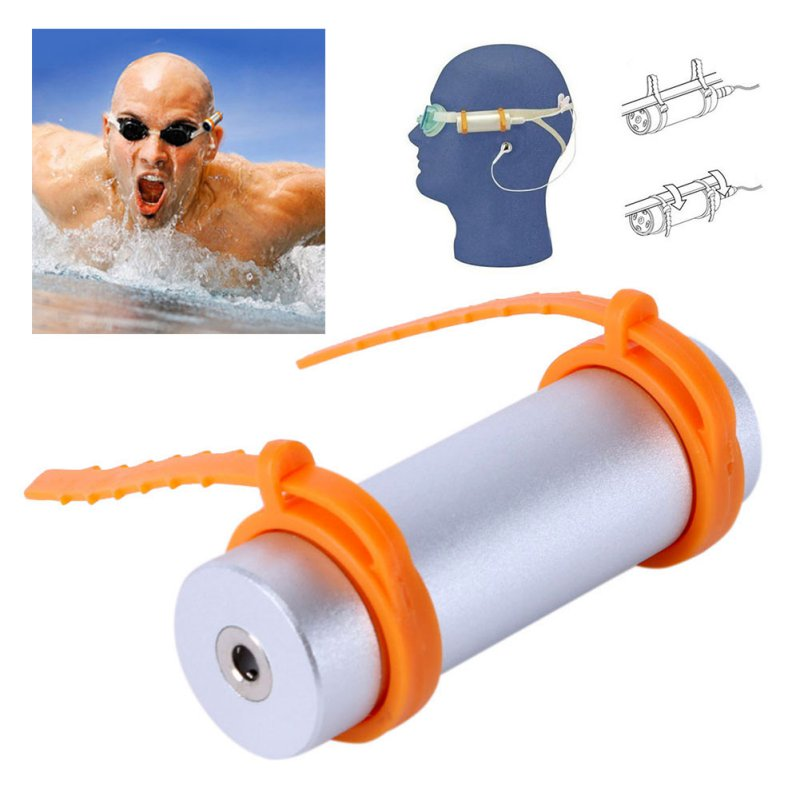 Waterproof MP3 Player 4GB Built-in Swimming Diving Sports MP3 Players USB Charging Cable Support FM Headphone Arm Band