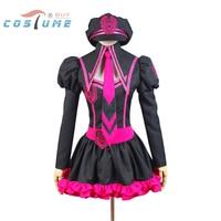 Vocaloid Luka Hatsune Miku Uniform Girls Top Skirt Hat Anime Halloween Party Cosplay Costumes For Women