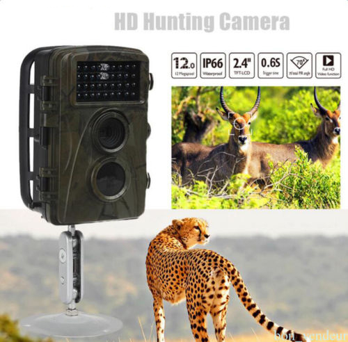 Фото Photo Traps Hunting Camera Digital Video Recorder IR LED Hunting Video Recorder Camera Night Vision Scouting Trail Camera