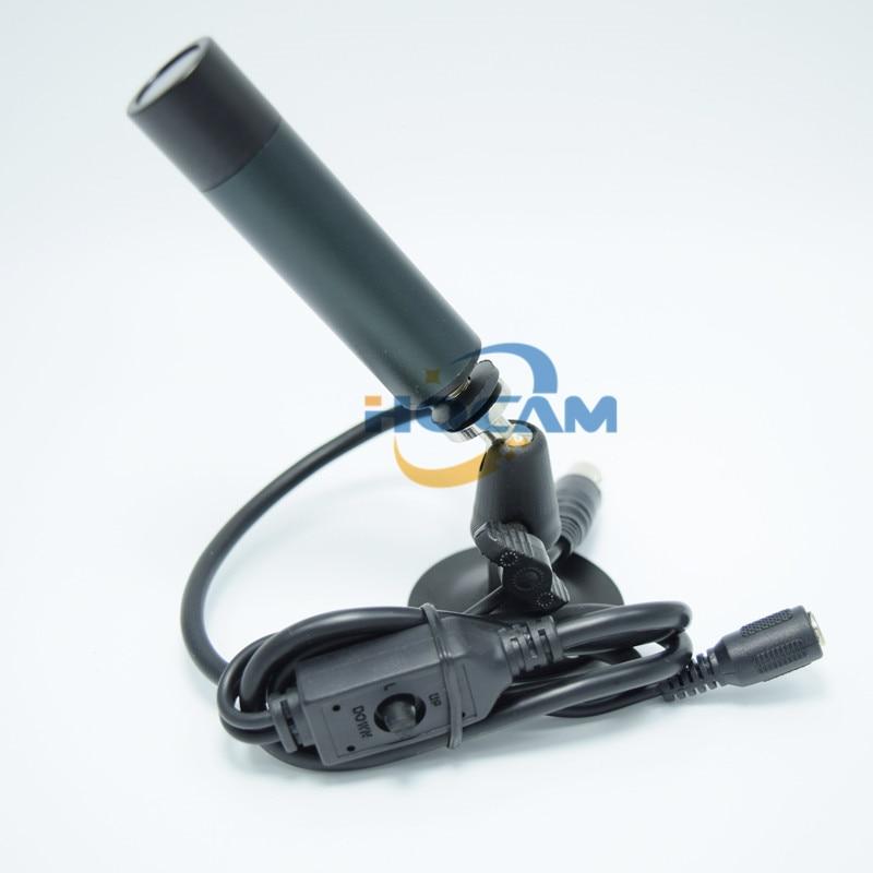 ФОТО  405AL B/W Camera OSD menu CCD 480TVL Black and white image For Analog Camera Black and white mini camera Mini B/W HQCAM Came