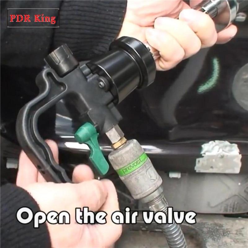 Пневматическая вмятина повреждения кузова автомобиля ремонт Съемник комплект Vocuum вмятин Съемник авто автомобиль вмятин Ремонт Инструменты слайдер молоток инструменты - 3
