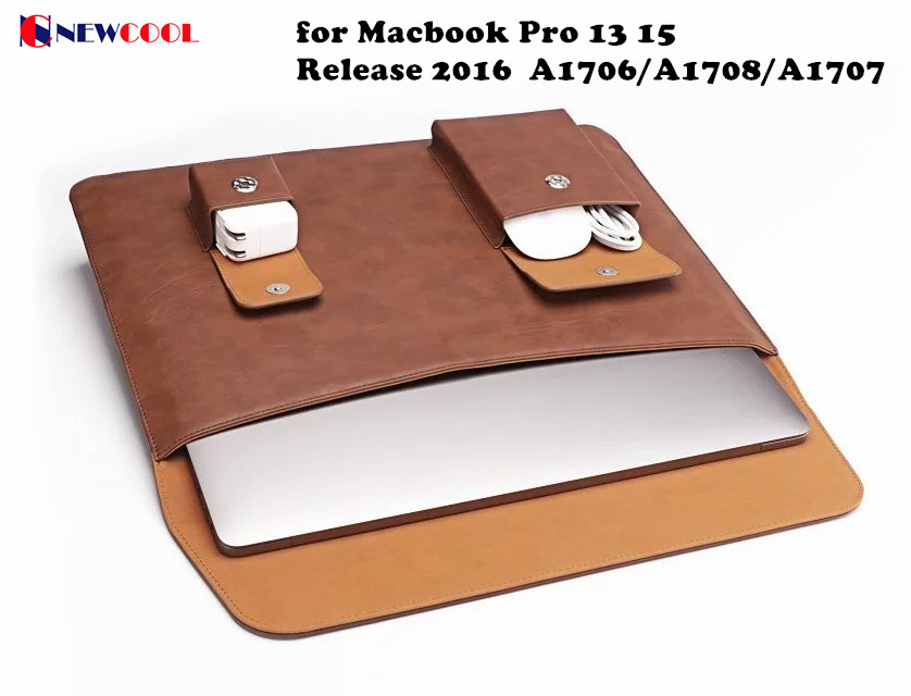 Laptop Case for Apple Macbook Pro 13 15 Release 2016 New A1706/A1708/A1707 Laptop Notebook Protective cover shell bag sleeve