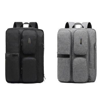 17 17.3 inch Convertible Laptop Shoulder Bag Notebook Backpack Bag Messenger Bag Laptop Case Handbag Business Briefcase Rucksack