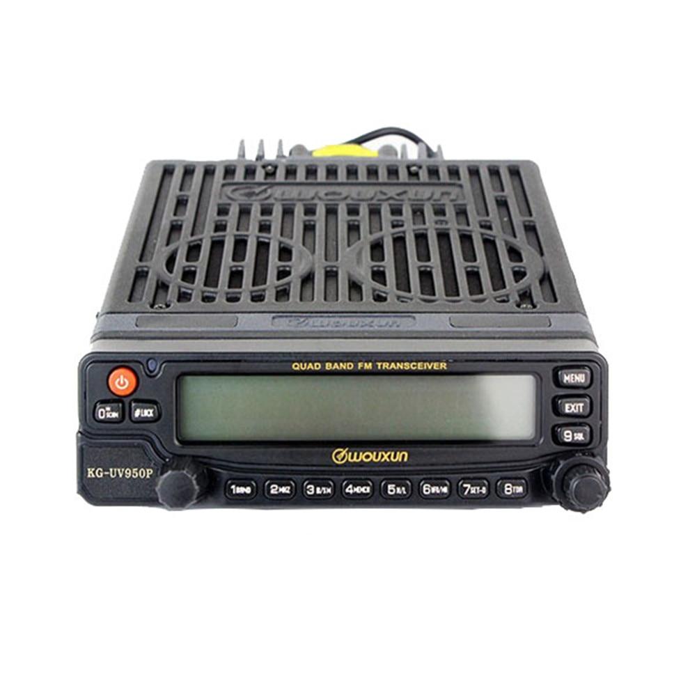 New Car Radio Walkie Talkie  WouXun Kg-uv950p Dual Band Mobile Radio Kguv950p Quad Bands Transmission