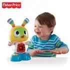 Gratuit Fisher Price interactif amusant musique apprentissage chanter danse Expert Audrey Fisher Musical bébé déplacer poupées jouets DLM53