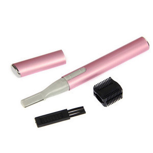 Mini Electric Eyebrow Trimmer Shaver Portable Face Body Shaver Razor Epilator Facial Hair Remover Depilation Battery Operated 1