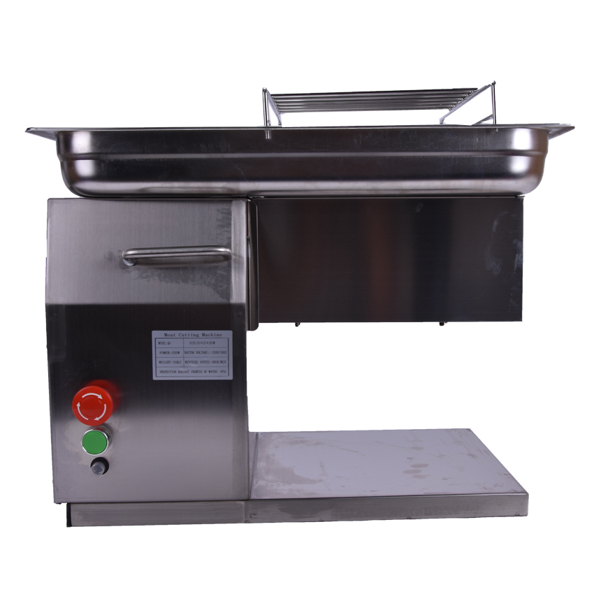 220V/240V hot sale in stock commercial use new design QH meat slicer cutting machine 250KG per hour new in stock vi 240 eu
