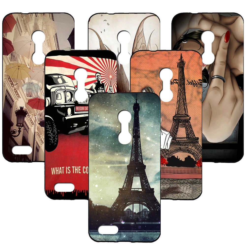 For Oukitel C8 Cute Cartoon Pattern Style Cool Gel Soft TPU Silicone Case Phone Cover Celular for Oukitel C8