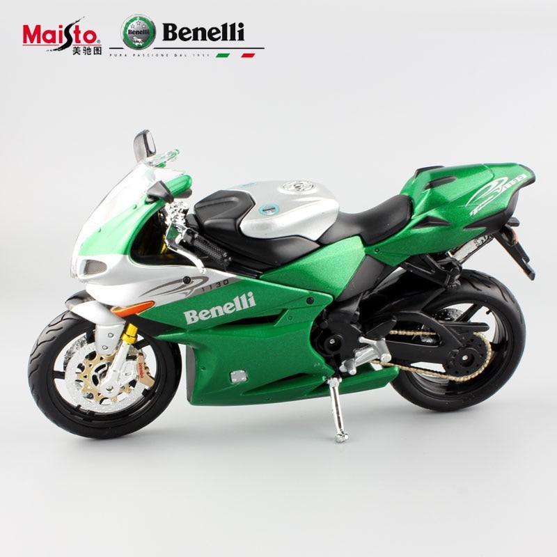 112 childrens tornado tre 1130 green metal diecast models motorbike jouets mini race car