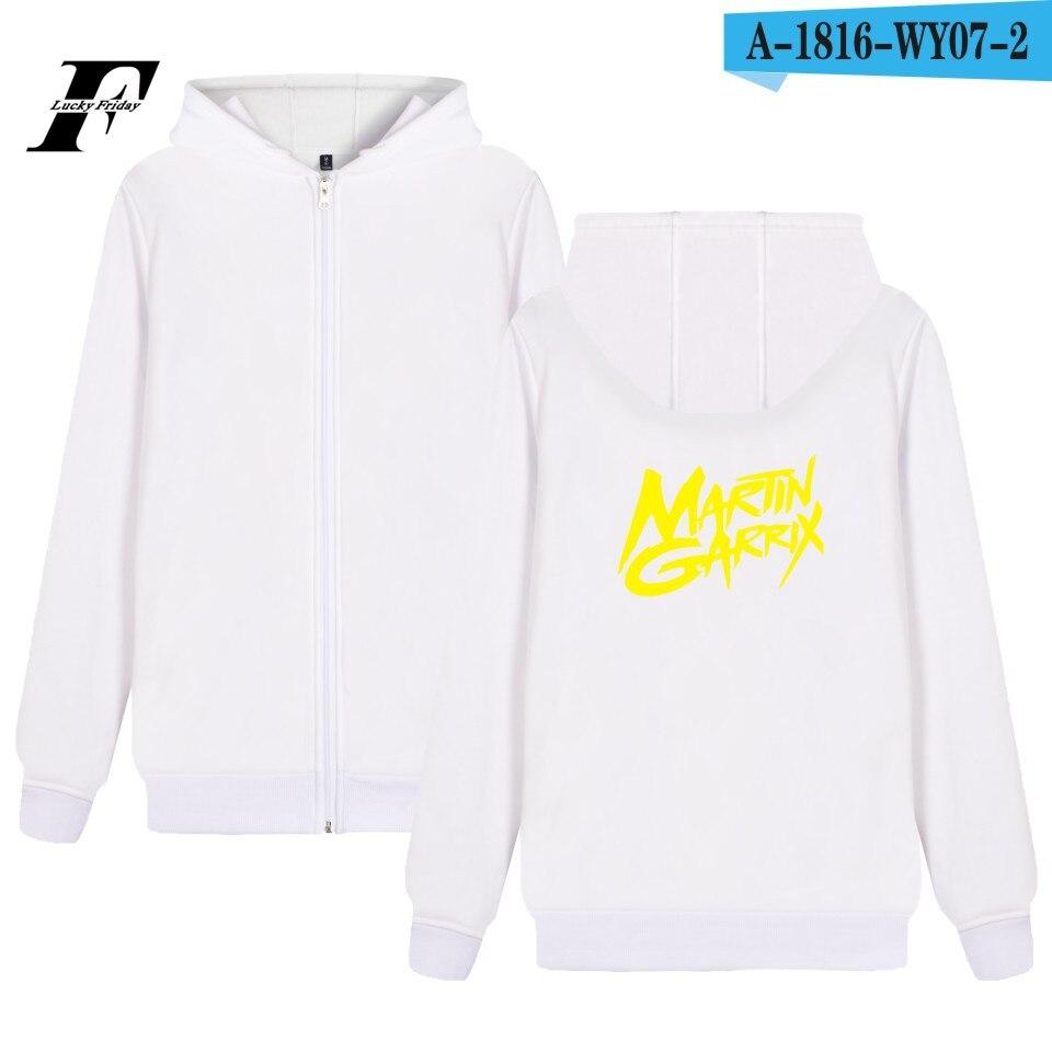 Martin Garrix Hoodie Zipper Coat Winter Plus Hot DJ Music Hoodies Women Zipper Hooded Sweatshirts Fashion Jacket