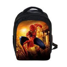 Anime Spiderman Backpack For Teenage Girls Boys Batman School Bags Spiderman/Batman Printing Backpacks Bagpack Kid Gift Bookbag