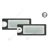 2Pair Super White Car LED License Plate Auot Number Light Canbus For Volvo V70 I 00