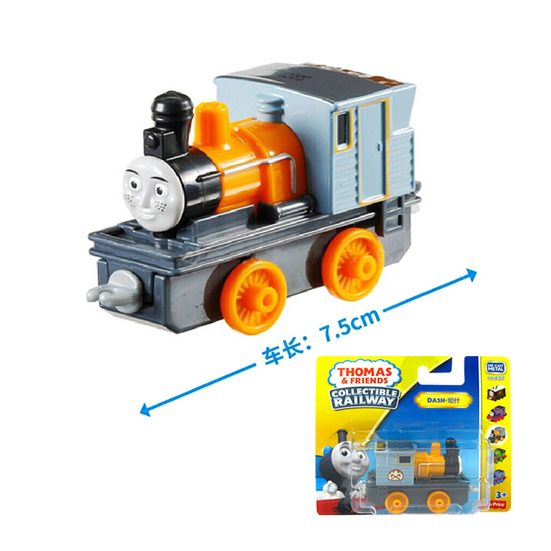 x10 Gift 1: 64 Vehicles Diecasts Thomas with hook Dash Thomas And Friends Magnetic Thomas Truck Engine Train Toys For Boys