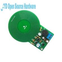 1set DIY Kit Metal Detector Kit Electronic Kit DC 3V-5V 60mm Non-contact Sensor