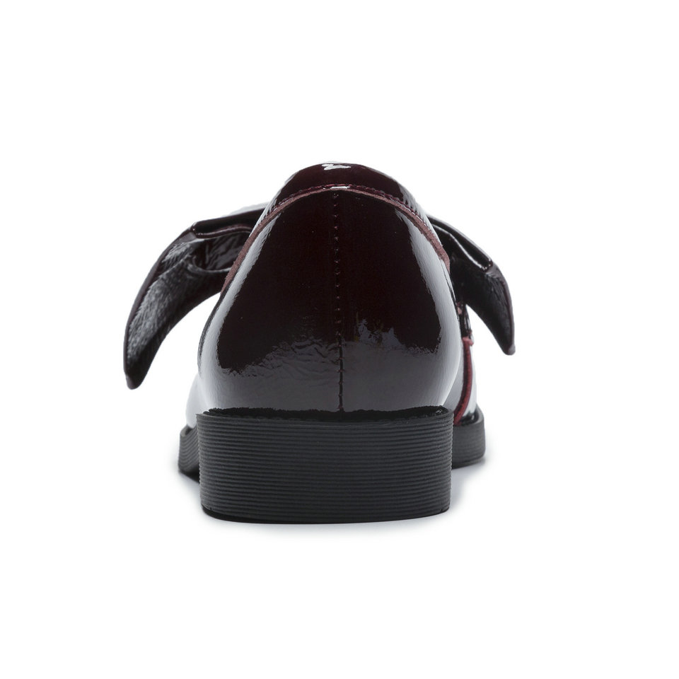 Bout noir Appartements noeud 34 Chaussures Red Verni Papillon Noir Beige Taille Femme Dames Rond Cuir 40 De Talon Plat Femmes En Pu zao Eshtonshero Mocassins BwFOB