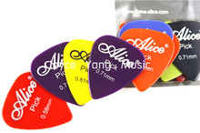 Alice 12pcs Acoustic Electric Guitar Picks Plectrums Clamshell Free Shipping стоимость
