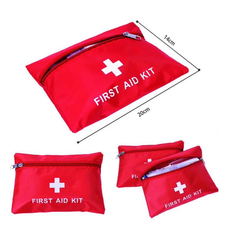 Image 2 - Mini Waterproof Portable Outdoor First Aid Kit EVA Bag For Emergency Treatment In Travel And At Home-in Emergency Kits from Security & Protection