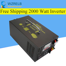 Micro grid tie inverter 12V/24V 2000W Peak Power Inverter Voltage Convertor Transformer 48V Automatic Adaptable