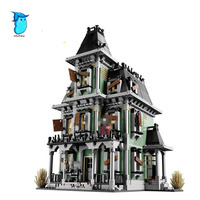 StZhou LEPIN 16007 2141Pcs Monster Fighter The Haunted House Model Set Building Kits Model Compatible Without