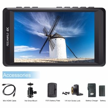 Feelworld F450 4.5 inch IPS 1280x800 4K HDMI Camera Field Monitor for Canon Nikon Sony DSLR Video