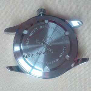 Image 5 - Double calendar Date T25 Tritium Luminous Quartz military watch waterproof 200M Sapphire Brand Watches Mens full steel relojes