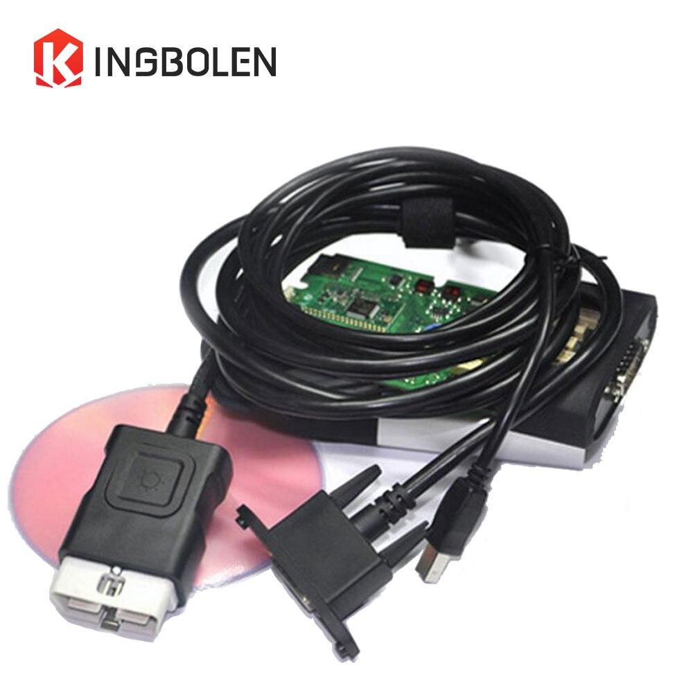 imágenes para Calidad A + TCS CDP PRO Escáner Bluetooth 2014 R2 R3 solo Tablero de OBDII Herramienta de Diagnóstico Del Carro Del Coche activación gratuita Super CDP