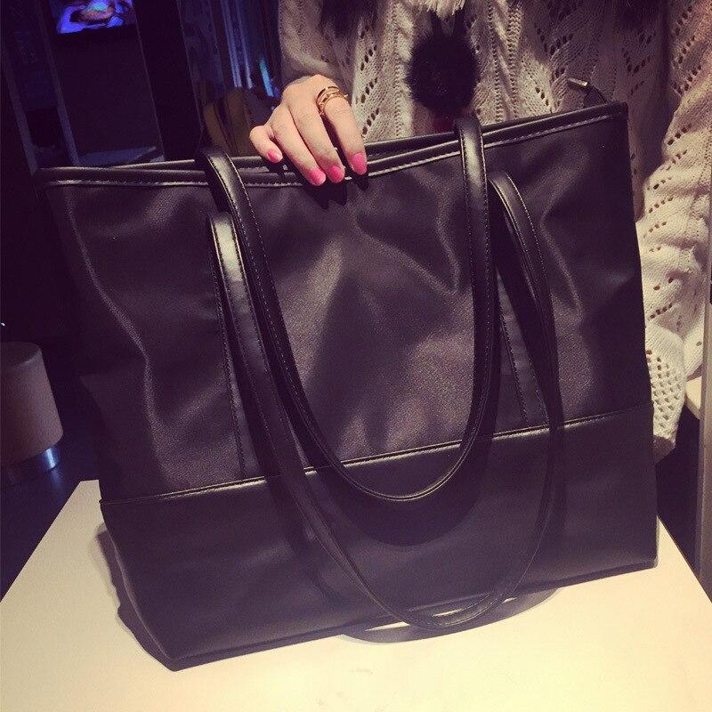 Ventes directes d'usine 2016 nouveau sac version coréenne épissure Oxford tissu femmes sac à bandoulière simple en gros