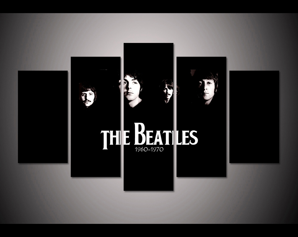 The Beatles Modern Art Canvas Print~ 5 Sizes