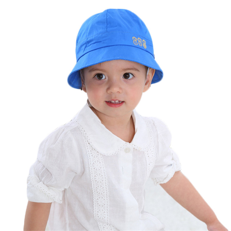 e99732f1c63 Baby Hat Summer Boys Sun Hat Baby Girls Cotton Hats Autumn Kids Beach Bucket  Cap Lovely Children Beanies Windproof Fisherman Hat-in Hats   Caps from  Mother ...