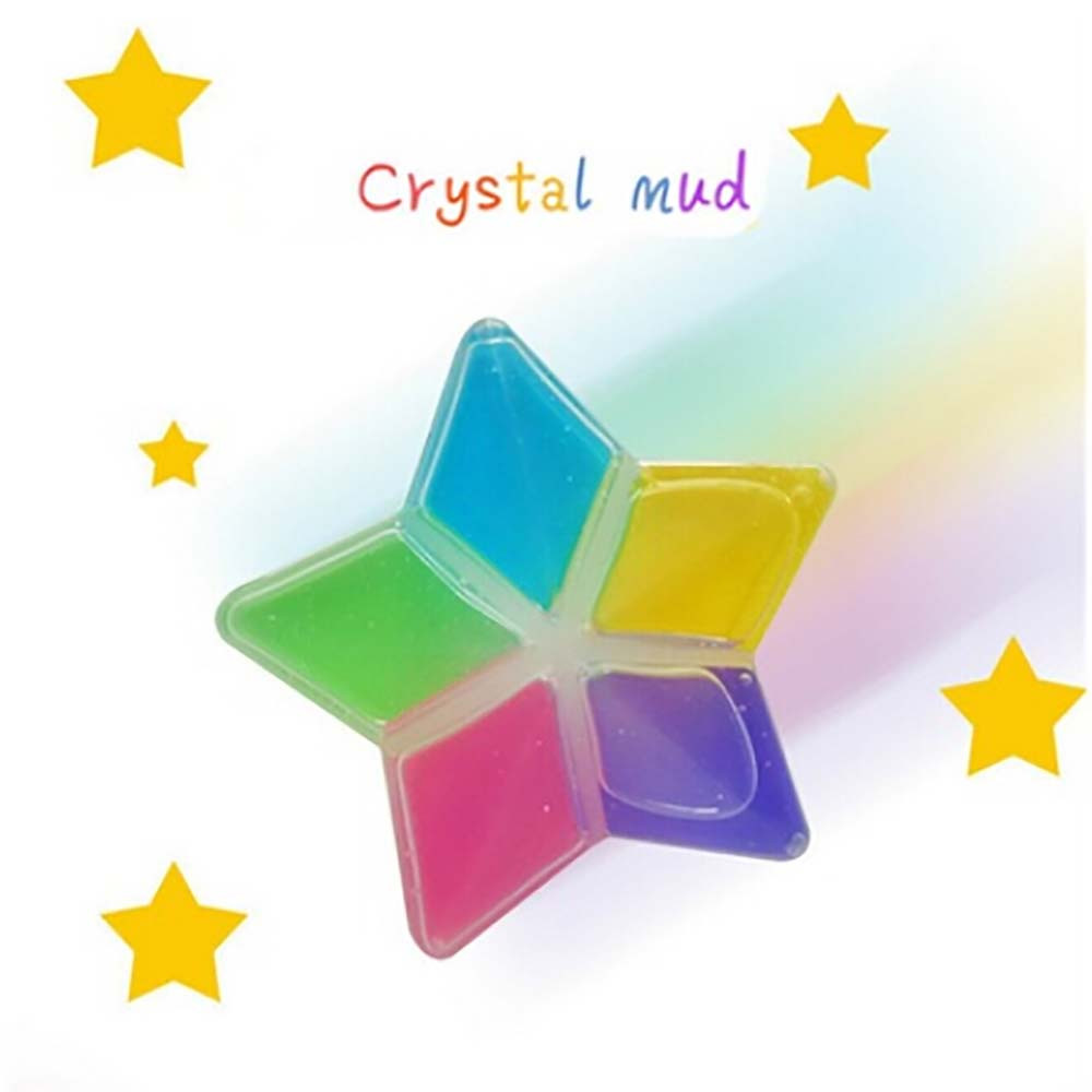 5 Pcs/lot Colorful Slime Lizun light clay DIY Non-toxic Crystal Mud Play Transparent Magic Plasticine Kid Toys gum for hands