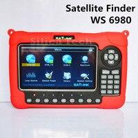 Оригинальный Satlink WS 6980 DVB S2 DVB T2 DVB C Combo цифрового спутникового Сингаль FINDER анализатор спектра Созвездие