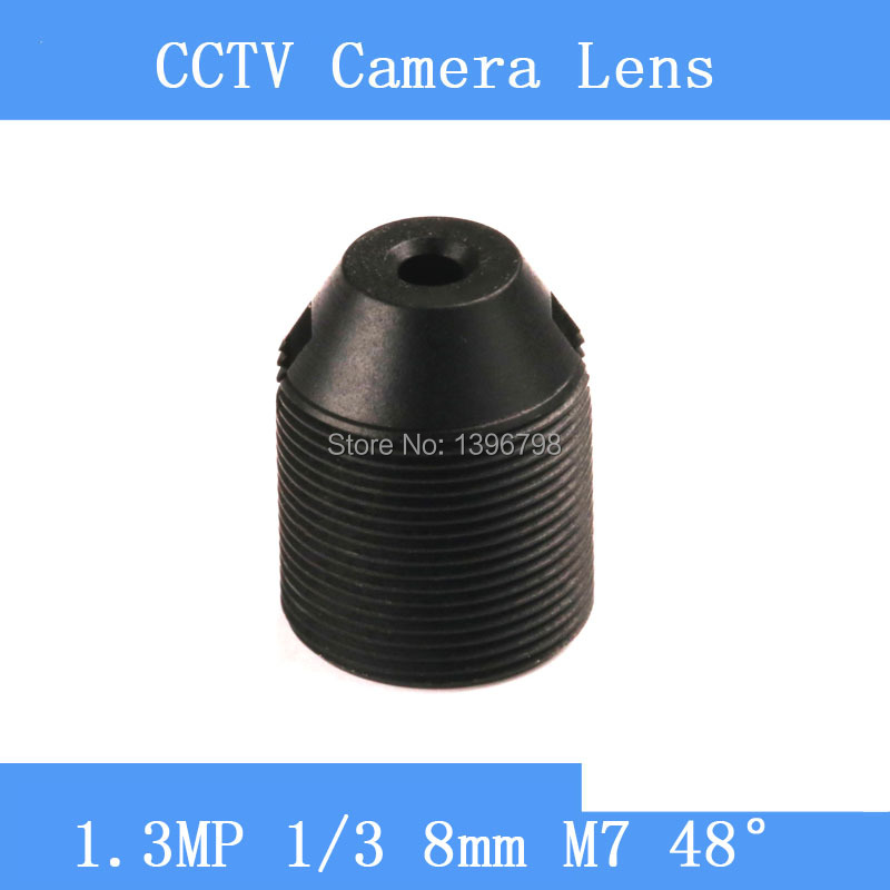PU`Aimetis CCTV lenses 1.3MP 1/3 HD 8mm pinhole surveillance camera 48 degrees infrared M7 lens thread surveillance infrared camera hd 2mp pinhole lens 1 2 7 3 7mm m12 thread cctv lens