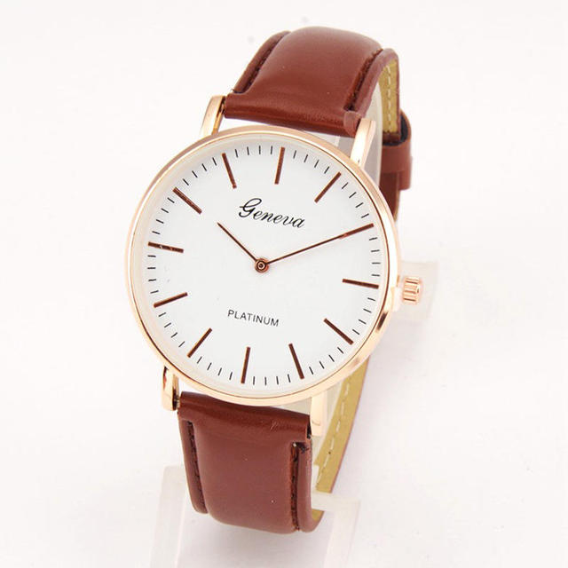 Unisex Simple Number Quartz Canvas Belt Wrist Watch