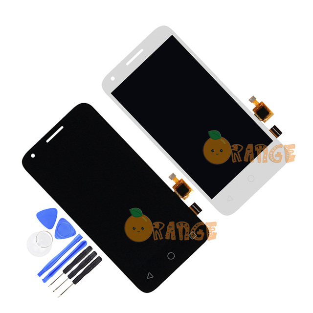 US $8 01 10% OFF|New Sensor Monitor Assembly Replacement For Alcatel One  Touch 5017 5017E 5017A 5017D 5017X LCD Display Touch Screen+Tools-in Mobile